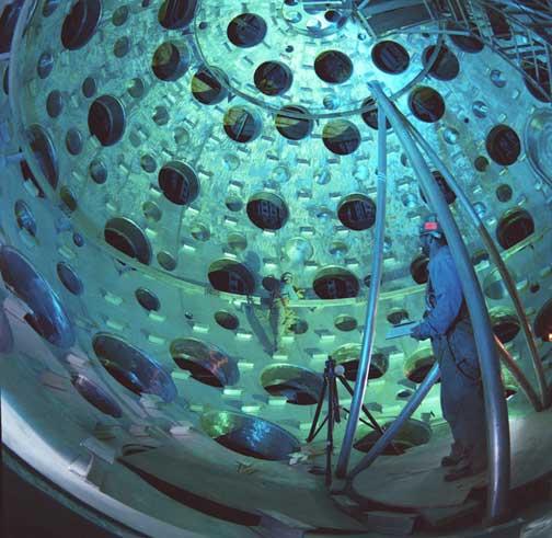 Inside of target chamber.