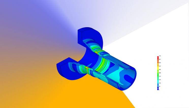 3D rendering of part