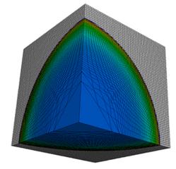 LULESH visualization